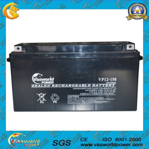 12V 150ah Solar Lead Battery Vasworld Power Battery Factory pictures & photos