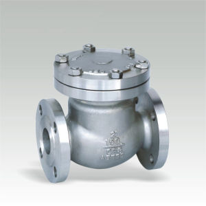 Class 150~1500 Cast Steel Swing Check Valve (H44H-600LB)