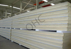 Polyurethane Wall Panel PU Sandwich Panel for Isolation pictures & photos