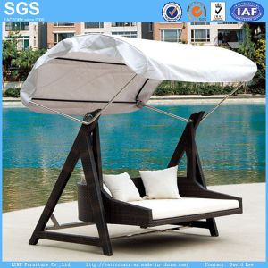 Garden Furniture Rattan Furniture Swing with Canopy Swing Bed pictures & photos