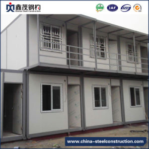 Customized Steel Structure Frame Prefabricated Building with Low Cost (Steel Construction) pictures & photos