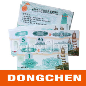 Offset Printing Paper Government Security Pension Voucher pictures & photos