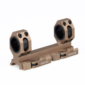 Militarily Double Ring Scope Mount 30mm Aluminum Scope Mount for Airsoft Cl24-0134 pictures & photos