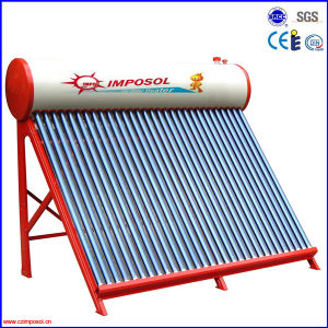 Solar Thermal Water Heater with Evacuated Tubes pictures & photos