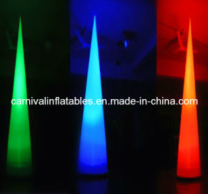 Inflatable Decoration/ Inflatable Event Decoration/Inflatable Cone with Light / LED Light Inflatable Cone for Advertising