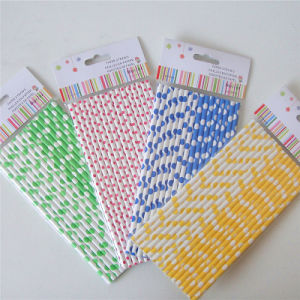 Colorful Polka DOT Paper Straw for All Occasion pictures & photos