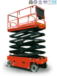 Scissor-Type Aerial Working Platform (Hydraulic Motor) pictures & photos