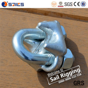 Us Type Drop Forged Hot DIP Galvanized Wire Rope Clips pictures & photos
