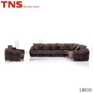 Sectional Fabric Sofa (LR610) for Home Furniture