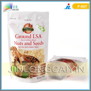 Stand up Bottom Gusset Packaging Bag for Nuts and Seeds pictures & photos