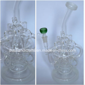 12 Inch Glass Recycler Bubbler pictures & photos