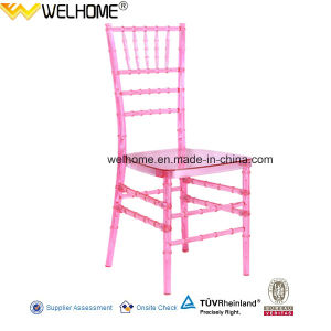 Pink Color Resin (PC material) Chiavari Chair for Wedding/Party/Event pictures & photos