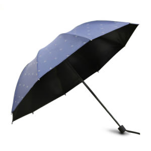 2016 New Fashion Safety Umbrella with Reflective Pattern pictures & photos