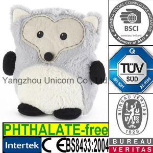 Fox Toy SilicaTourmaline Stuffed Bag Microwave Heat Toy