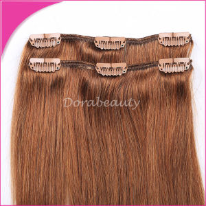Wholesale Indian Hair Remy Human Hair Clip in Hair Extension pictures & photos