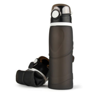 Silicon Outdoor Sports Folding Water Bottle pictures & photos