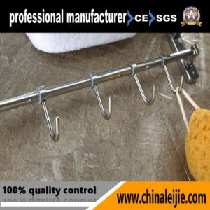 Stainless Steel Polished Bathroom Accessories Towel Rack (LJ501Y) pictures & photos