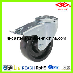 Bolt Hole with Brake Industrial Caster (G102-61C080X35S) pictures & photos
