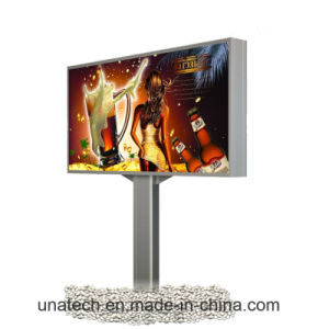 Outdoor Road Printing Media Advertising Poster LED Backlit Banner Light Box Billboard pictures & photos