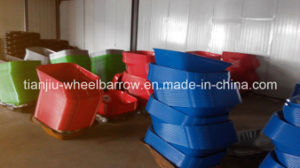 Strong Wheelbarrow with Cirling Yard (Wb6400) pictures & photos