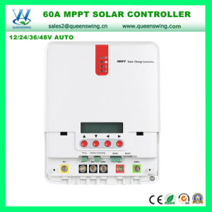12/24/36/48V 60A MPPT LCD Solar Charger Regulator (QW-ML4860A) pictures & photos