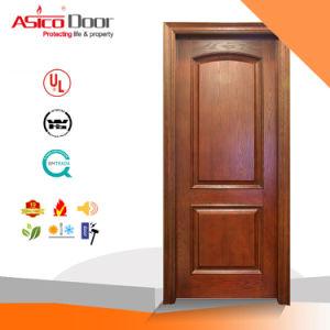 Exterior /Interior Door Wooden Sashed Door Designs with Nature Veneer pictures & photos