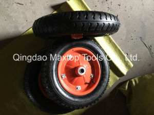 Pneumatic Wheel Barrow Rubber Wheel pictures & photos
