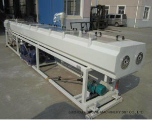 PVC Plastic Double Pipe Production Line with Plastic Extruder pictures & photos
