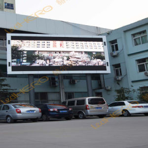 EMC Certificate Outdoor P10 Full Color Chip LED Display with High Refresh pictures & photos