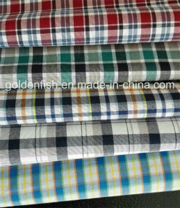 100% Cotton Peach Y/D Shirting Fabric for Casual Shirts