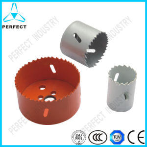 Bilateral Metal Hole Saw Cutter Set with Arbor pictures & photos