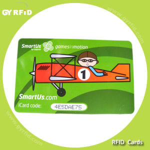 ISO I Code Sli-L Hf RFID Plastic Card for RFID Attendance System (GYRFID) pictures & photos