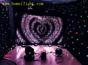 LED Vision Curtain for Wedding Decoration with CE pictures & photos