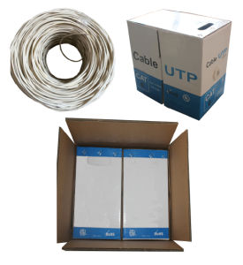 UTP CAT6 Solid Cable/LAN Cable/Network Cable pictures & photos