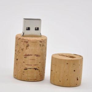 USB Stickcylindrical Wooden USB 2.0 2GB-32GB Flash Drive Thumb Pen Drive USB Creativo Memory Stick U Disk Gift /Souvenir S786 pictures & photos