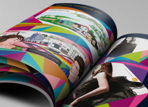 Colorful Art Paper Magazine Printing pictures & photos