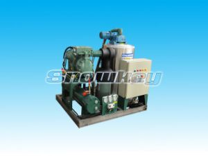 Sea Water Flake Ice Machine on Board-3t pictures & photos