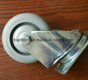 3.5 Inch 4 Inch TPR Rotating Casters pictures & photos