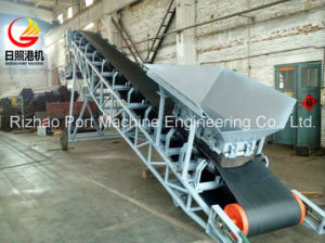 SPD Wood Chips Belt Conveyor for Port Material Handling pictures & photos
