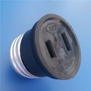 2 Flat Pins ABS Material Socket (Y120) pictures & photos