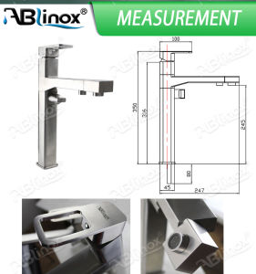 Stainless Steel Fashionable Basin Tap (AB115) pictures & photos