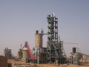 Dry Process Cement Rotary Kiln Plant pictures & photos