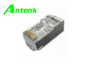 Modular Jack Connector/Network Plug Cat5e pictures & photos