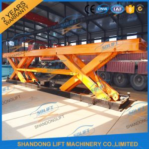 China Supplier Heavy Duty Scissor Hydraulic Lifter for Sale pictures & photos