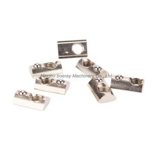 40 Series M6 Aluminum Profile T Slot Nut with Ball pictures & photos