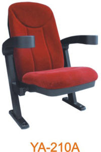 Velvet Cinema Chair Seating with Glass Holder (YA-210A) pictures & photos