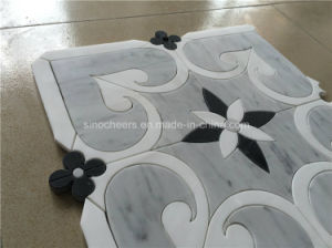 Carrara Grey Marble Mosaic Tile for Bathroom pictures & photos