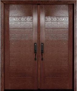 Oak Fiberglass Door pictures & photos