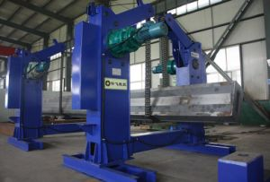 Chain Turnover Machine/ Semi Trailer Beam Turn Over Machine with Chain Flipping pictures & photos