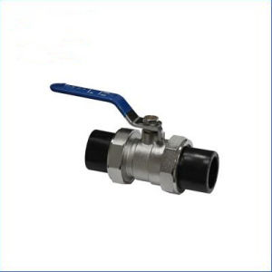 HDPE Pipe Fitting of Double Ends Ball Valve pictures & photos